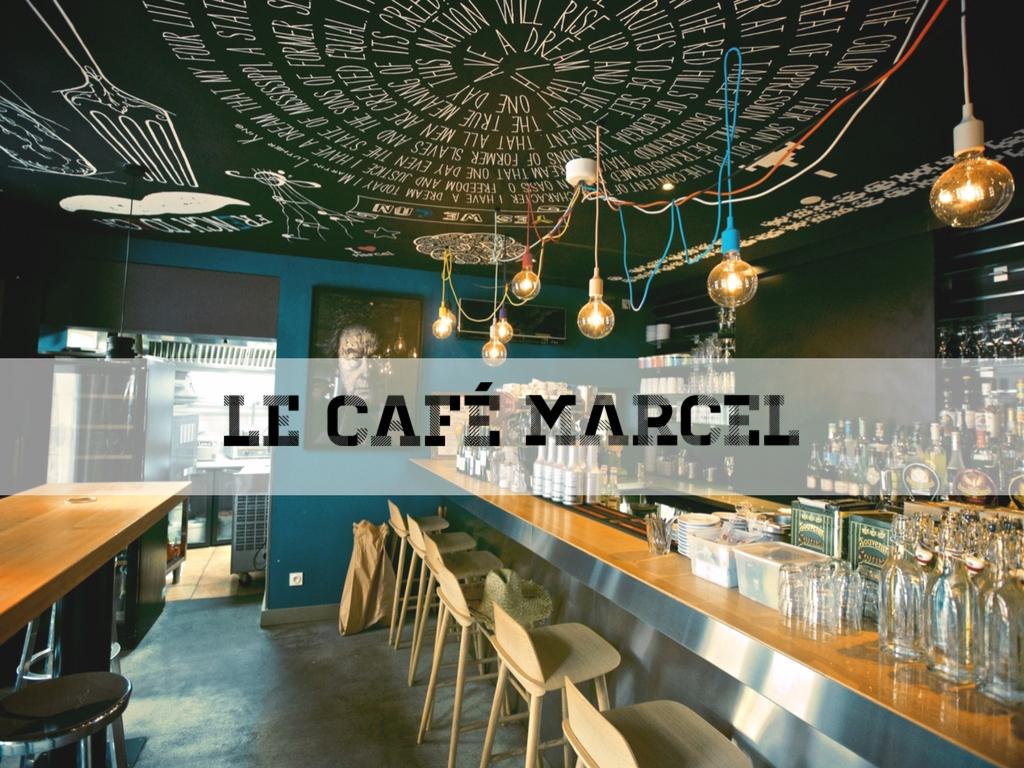Le café Marcel, à Tours