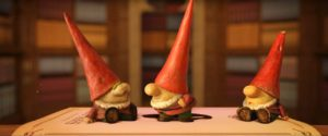 3 petits gnomes bonnet rouge sherlock gnomes