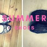 mes chaussures de l'été 2018 avec Footway