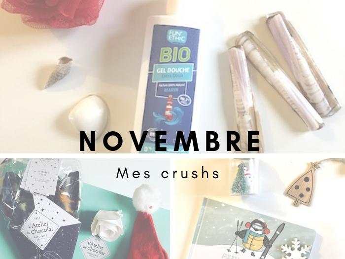 mes crushs de novembre
