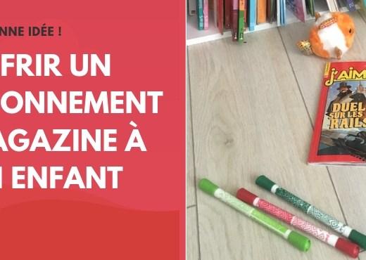 S'abonner à un magazine, la bonne idée du jour !
