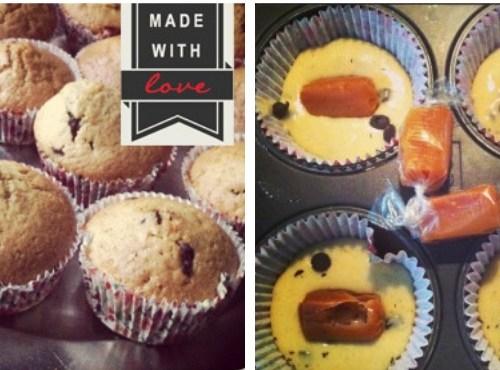 [Recette] Muffins aux pépites de chocolat & caramel au beurre salé