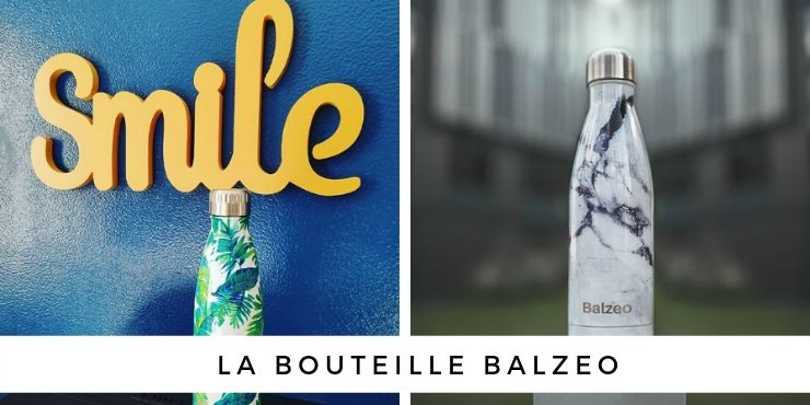 Balzeo, la bouteille thermos écolo