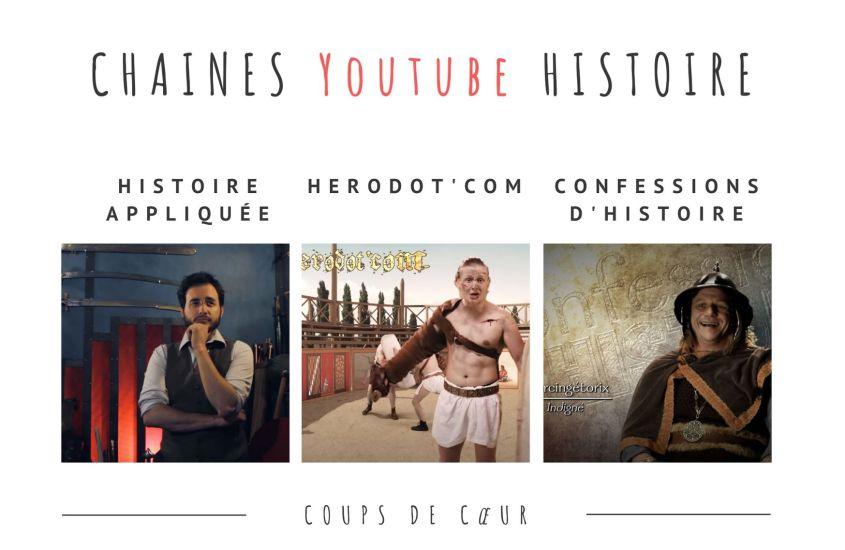 chaines youtube histoire
