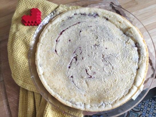 Recette du gâteau Pancake à la confiture Fraise Basilic