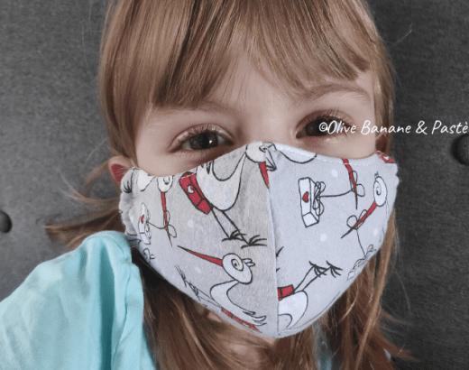 masque en tissu pour enfant