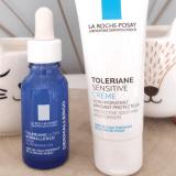 Le sérum et la crème Tolériane Sensitive de la Roche Posay