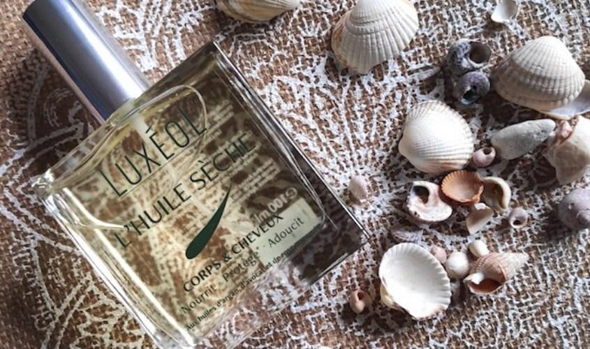 Des cheveux et une peau bien protégés pour l'été avec l'huile sèche Luxéol