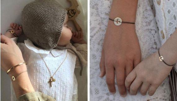 Sélection de bracelets cordons poru enfant et bébé