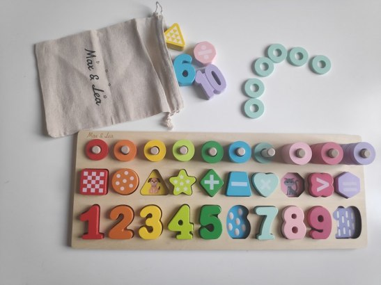 La playboard de Max & Lea