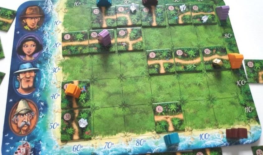 Karuba, un jeu d'exploration HABA