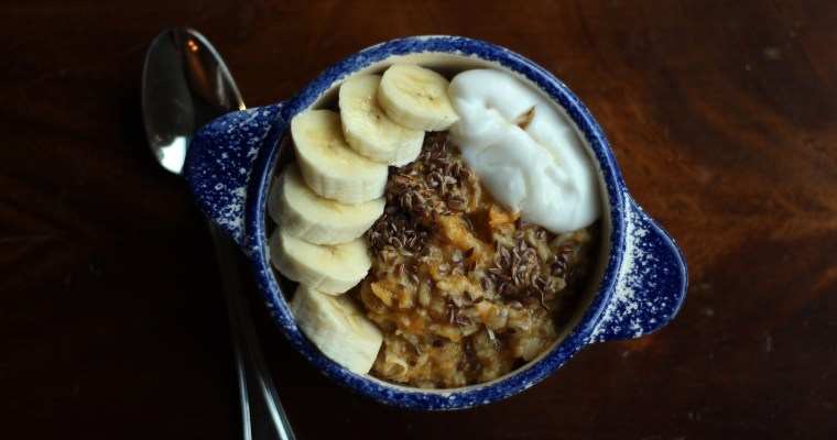 Overnight Carrot Cake Oats for Two