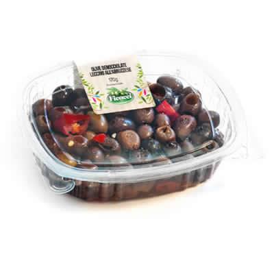 Ricetta tipica regionale abruzzese olive leccino denocciolate 170g