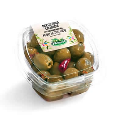 Ricetta tipica regionale calabrese olive nocellara del belice denocciolate 150g