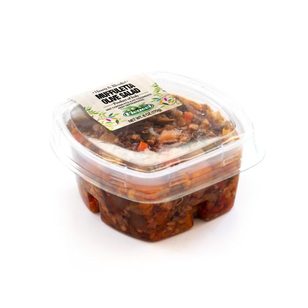 bruschetta di olive e giardinera insalata di rinforzo