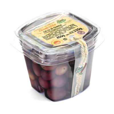 olive nere di gaeta DOP 225g