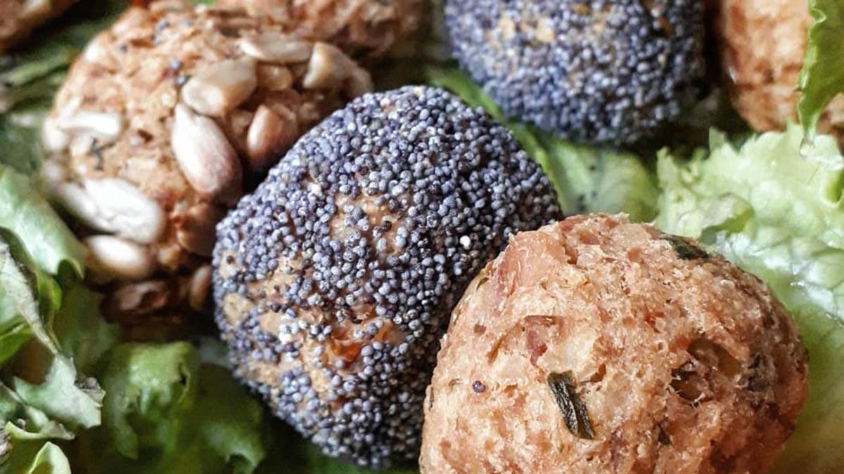 polpettine di miglio sgombro ed olive