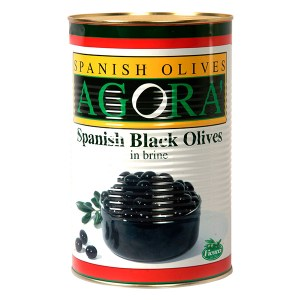 Olive nere denocciolate a rondelle