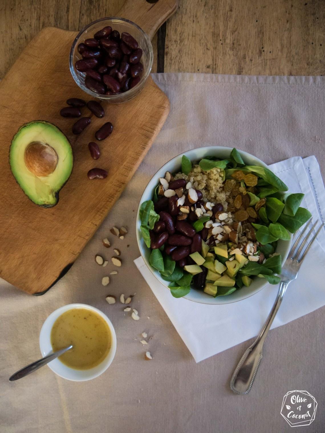 Salade Quinoa Vegan Sans Gluten