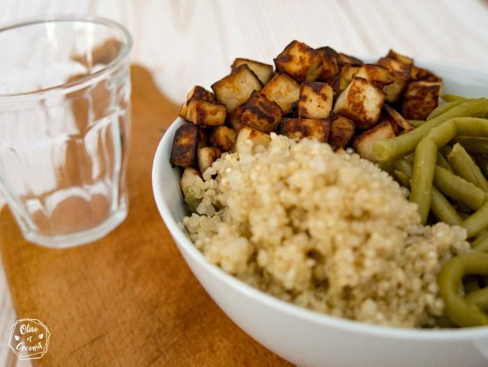 Tofu Sauté Vegan Sans Gluten