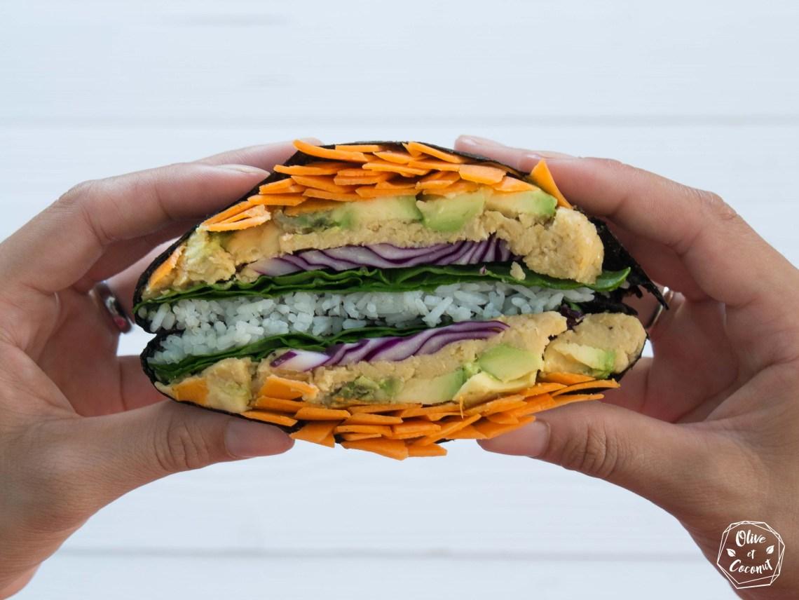Sandwich Vegan Sans Gluten