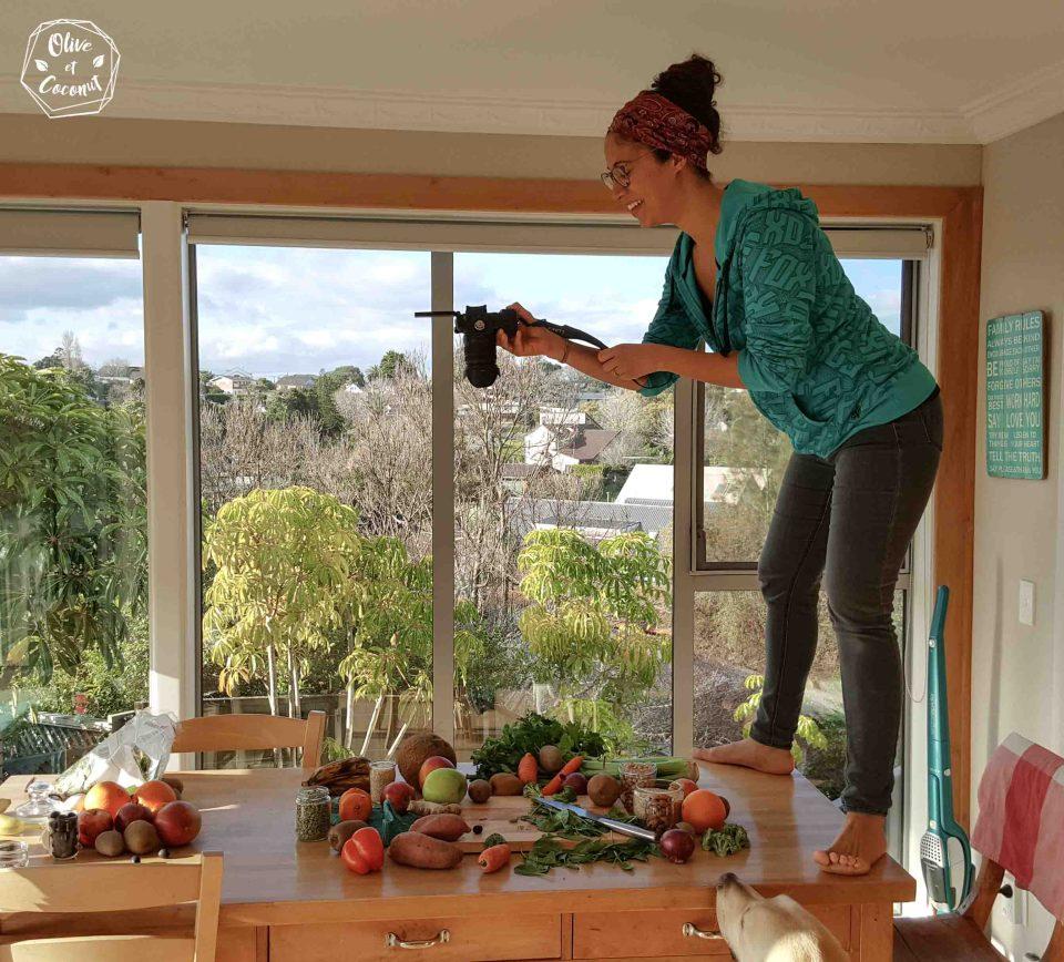 Shooting photo du défi 40 jours - 40 recettes