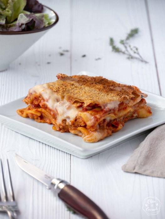 Lasagnes Vegan Sans Gluten