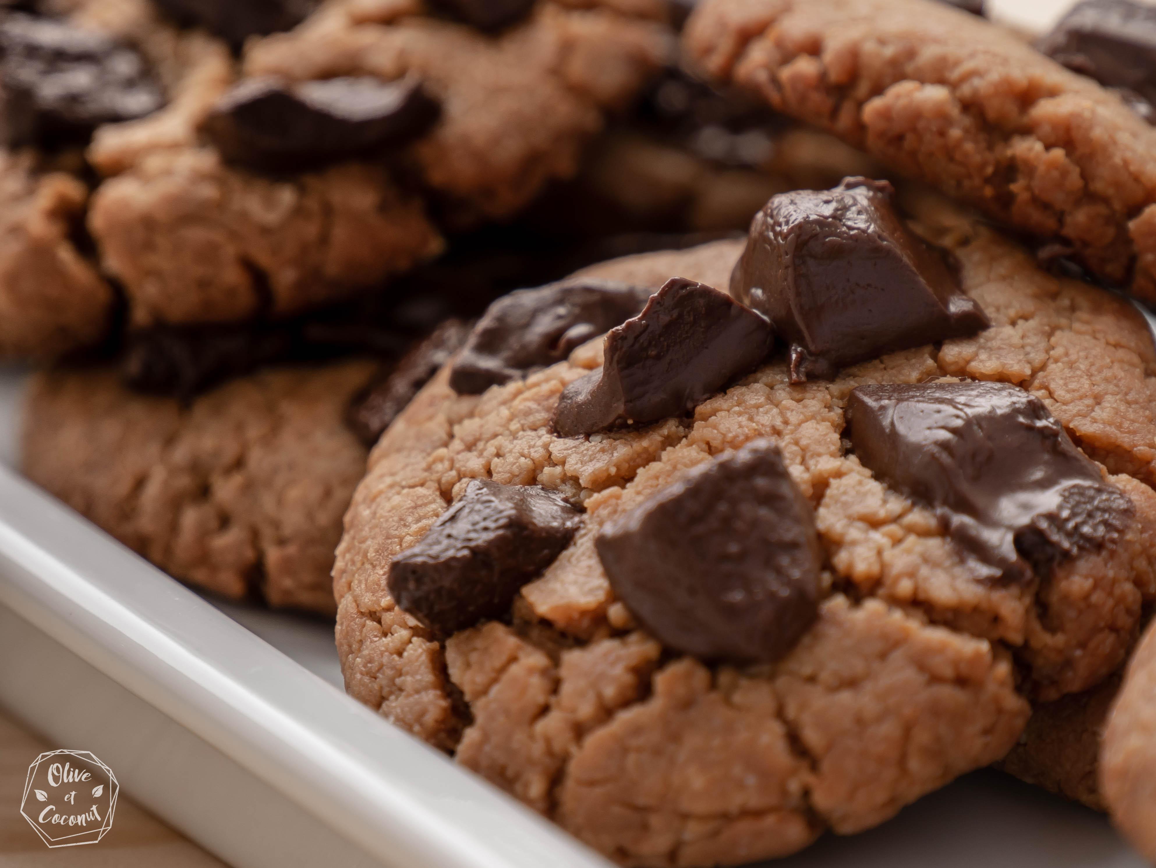 Cookies Beurre Cacahuètes Vegan Sans Gluten