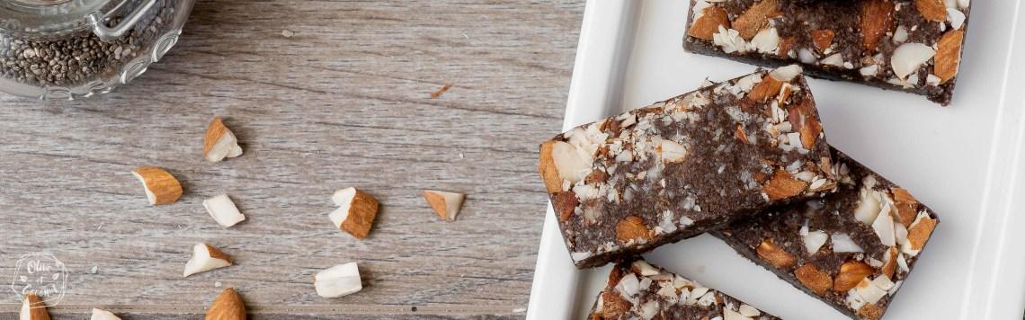 Barres Energétiques Amandes Vegan Sans gluten