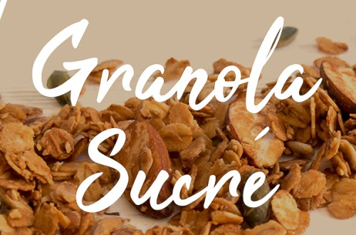 Granola Vegan Sans Gluten Sucré