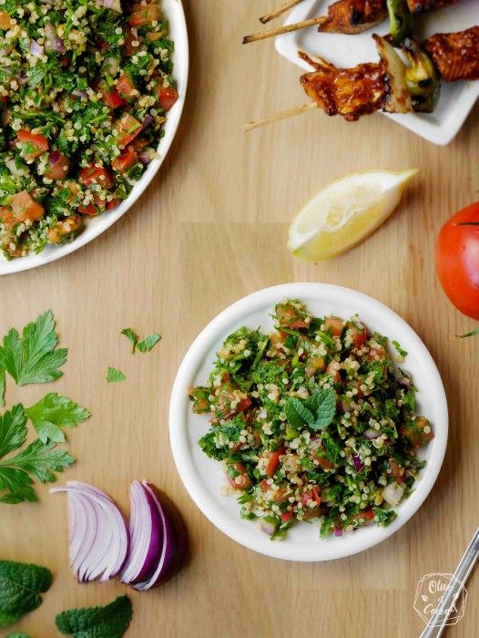 Taboulé Sans Gluten Vega Libanais
