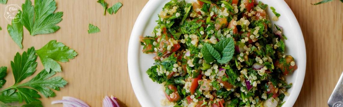 Taboulé Sans Gluten Vegan Libanais