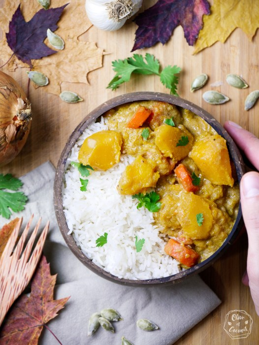 Recette Curry Vegan Sans Gluten