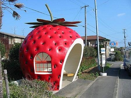 strawberry-bus-stop