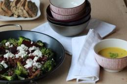 Broccoli and Beetroot Salad