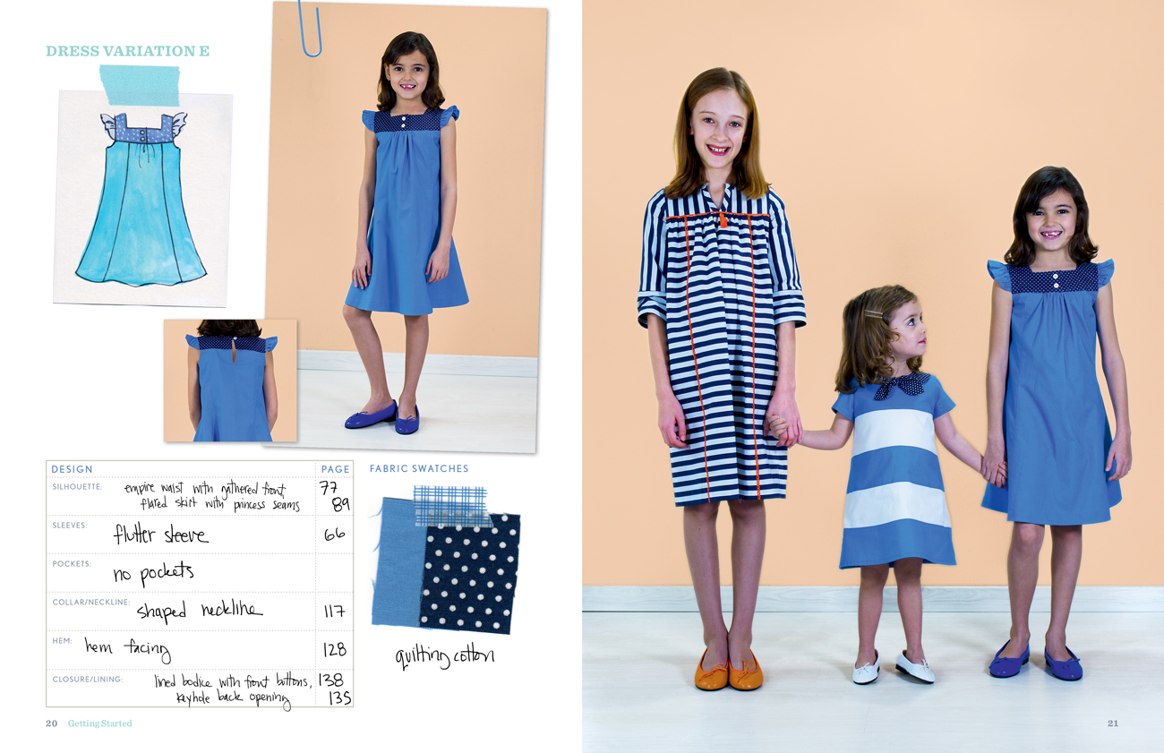 Oliver S Building Block Dress