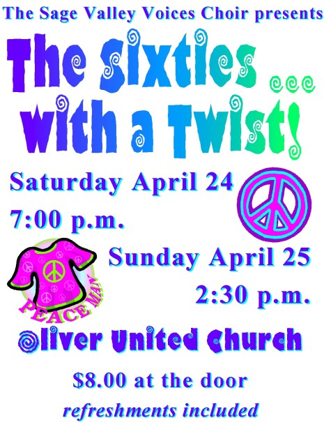 Dates Oliver Community Arts Council