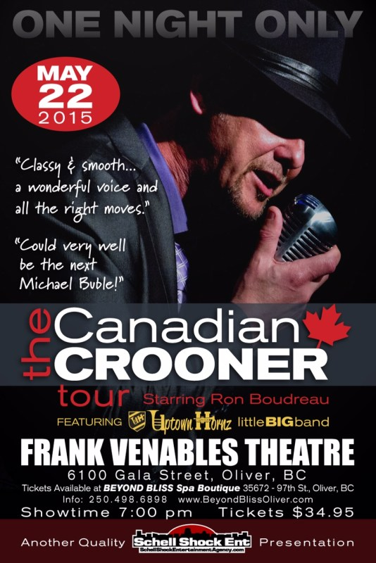 Canadian Crooners Poster E