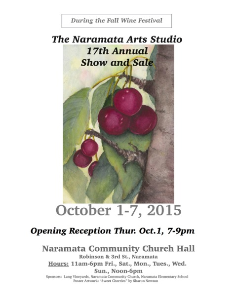 Poster for NAS 17th Annual show 2015