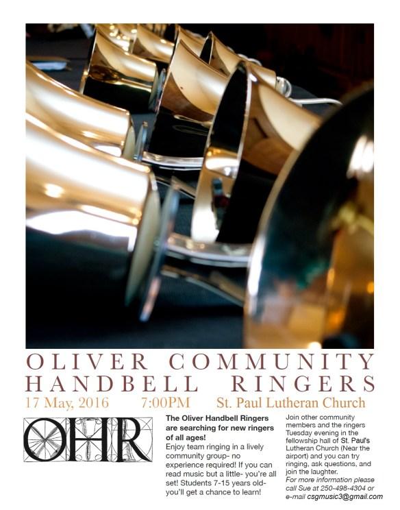 Oliver Handbell Ringers 2016