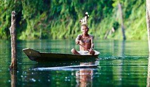 iban,canoe,jungle,borneo