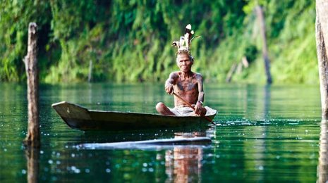 iban,canoe,jungle,borneo