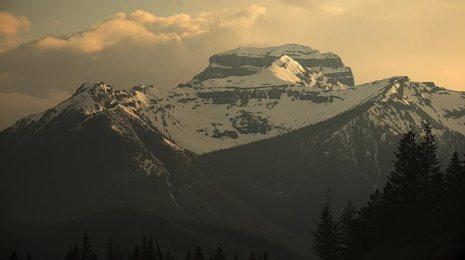 canada,banff,rockies,sunset