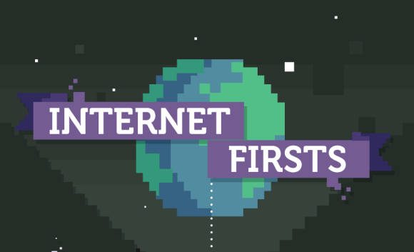 internet firsts infographic