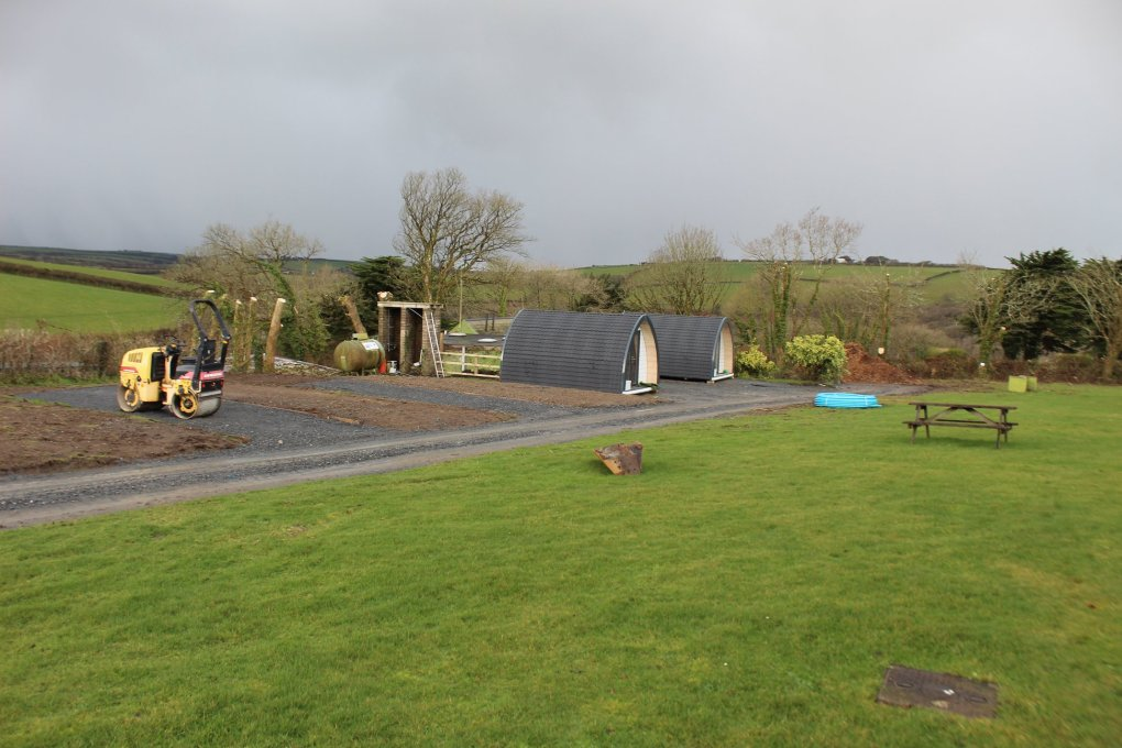 Seasonal Pitches and Camping Pods