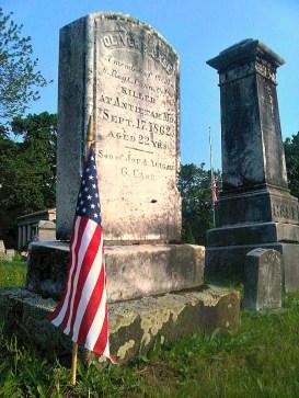 Oliver Case Grave Memorial Day 2011