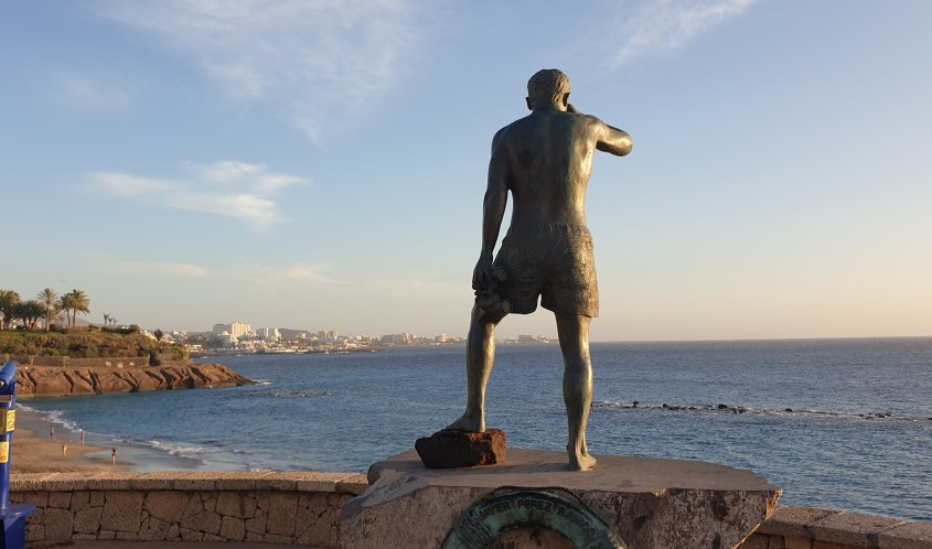 Looking out to sea in Tenerife