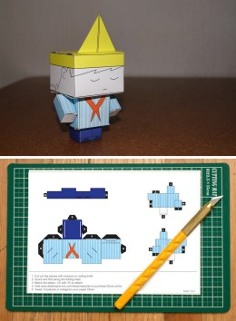 R60.00 Printable paper Build-A-Oliver. Build your own Oliver and list him come to life.