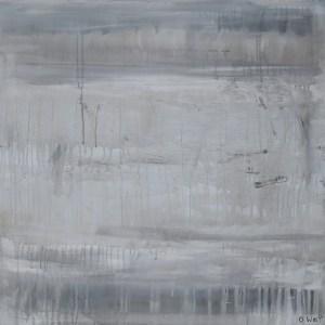 Cascade 2 , abstract art piece