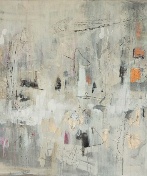 Divine abstract painting by oliver watt